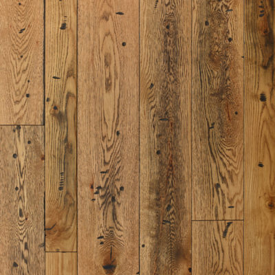 """White Oak 6 1/4""""-Antiqued, Hand Distressed, Natural"""