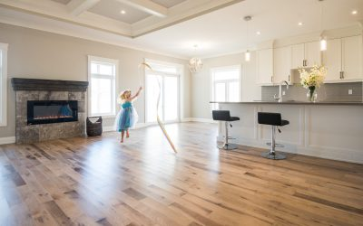 Five reasons to upgrade to hardwood flooring this spring.